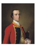 Portrait of a Gentleman, Traditionally Identified as Alexander Baillie of the First Foot, C.1761-62 Giclee Print by Joseph Wright of Derby