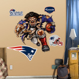 "New England Patriots ""Powerhouse Patriot"" Wall Decal"
