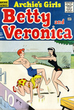 Archie Comics Retro: Betty and Veronica Comic Book Cover 57 (Aged) Art