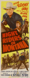 Night Riders of Montana Masterprint