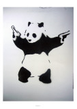 Pandamonium Giclee Print