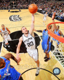 Manu Ginobili 2010-11 Action Photo