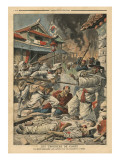 Unrest in Seoul, Korea, Illustration from 'Le Petit Journal', Supplement Illustre, 4th August 1907 Giclee Print by  French School