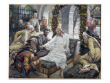 Mary Magdalene's Box of Very Precious Ointment, Illustration for 'The Life of Christ', C.1886-96 Giclee Print by James Tissot