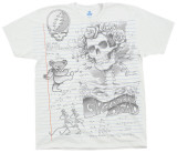 Grateful Dead - GD Sketch T-shirts
