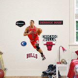 Derrick Rose Fathead Junior Wall Decal