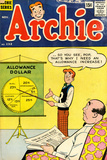 Archie Comics Retro: Archie Comic Book Cover 132 (Aged) Posters by Harry Lucey