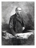 Charles Stewart Parnell, in the Witness Box During the Special Commission Investigating Reproduction procédé giclée par Walter Wilson