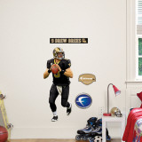 Drew Brees Fathead Junior Wall Decal