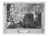 The Industrious 'Prentice Performing the Duty of a Christian, Plate Ii of 'Industry and Idleness' Giclee Print by William Hogarth