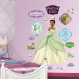 Princess Tiana Kalkomania ścienna