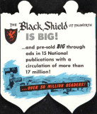 The Black Shield of Falworth Tryckmall