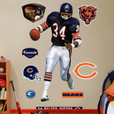 Walter Payton Wall Decal