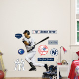 Derek Jeter Fathead Junior Wall Decal