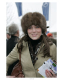 Kate Middleton at the Cheltenham Festival on Gold Cup Day Prints