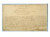 Handwritten Dedication of 'Brandenburger Concertos' to Christian Ludwig, Margrave of Brandenburg Premium Giclee Print by Johann Sebastian Bach