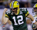 NFL Aaron Rodgers Action from Super Bowl XLV (19) Photo