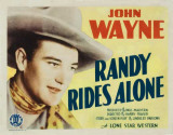 Randy Rides Alone Masterprint