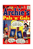 Archie Comics Retro: Archie's Pals 'n' Gals Comic Book Cover 6 (Aged) Art