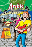 Archie Comics Cover: Archie &amp; Friends 134 The Archies Live Prints by Dan Parent