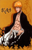 Bleach - Japanese Style Ichigo Kurosaki Orange Masterprint