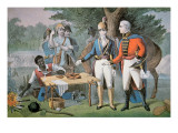 General Francis Marion of South Carolina Invites a British Officer to Dinner Giclee Print by  American School