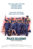 Police Academy Masterprint