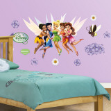 Disney Fairies Fathead Junior Kalkomania ścienna