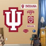 Indiana University Logo - Duvar Çıkartması