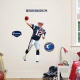 Tom Brady Fathead Junior Wall Decal