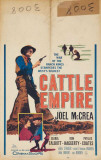 Cattle Empire Lámina maestra