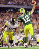 Aaron Rodgers Action from Super Bowl XLV (21) Photo
