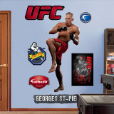 George St. Pierre Wall Decal