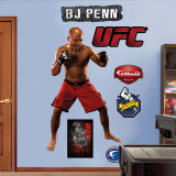 BJ Penn Wall Decal