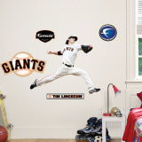 Tim Lincecum Fathead Junior Wall Decal