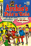 Archie Comics Retro: Archie's Pals 'n' Gals Comic Book Cover 41 (Aged) Prints