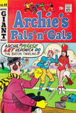 Archie Comics Retro: Archie's Pals 'n' Gals Comic Book Cover 44 (Aged) Prints