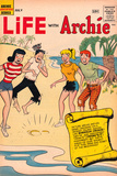Archie Comics Retro: Life With Archie Comic Book Cover 3 (Aged) Art