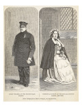 Chief Warder at the Pentonville Prison and Principal Matron at the Female Convict Prison, Brixton Giclee Print by  English School