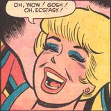 Archie Comics Retro: Betty Comic Panel; Ecstasy! (Aged) Plakát
