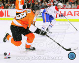 Danny Briere 2010-11 Action Photo