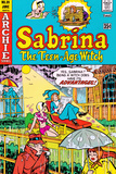 Archie Comics Retro: Sabrina The Teenage Witch Comic Book Cover 39 (Aged) Posters