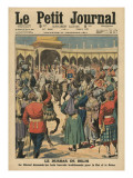 Delhi Durbar, Illustration from 'Le Petit Journal', Supplement Illustre, 24th December 1911 Giclee Print by  French School