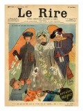 Caricature of Joseph Reinach, from the Front Cover of 'Le Rire', 28th May 1898 Giclee Print by Sibylle-Gabrielle de Riquetti de Mirabeau