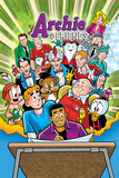 Archie Comics Cover: Archie &amp; Friends 151 Return To The Comic Shop Posters by Fernando Ruiz