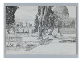 Haram, Mosque of Es-Sakrah, Illustration from 'The Life of Our Lord Jesus Christ' Giclee Print by James Tissot