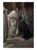 The Unbelief of St. Thomas, Illustration for 'The Life of Christ', C.1884-96 Giclee Print by James Jacques Joseph Tissot