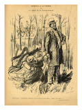 An Assault on Modesty or Mr. Chamberlain's Dream, from 'Le Rire', 28th May 1898 Giclee Print by  Jeanniot