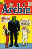 Archie Comics Retro: Archie Comic Book Cover 125 (Aged) Print by Harry Lucey