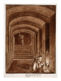 The Underground Building of the Neophyte Dominican Nuns. Arco Dei Pantani, 1833 Giclee Print by Agostino Tofanelli